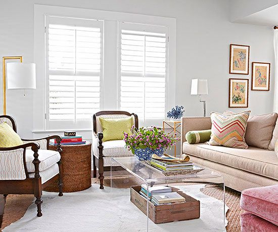 Ground a space with timeless pieces, then add accents to reflect who you are.