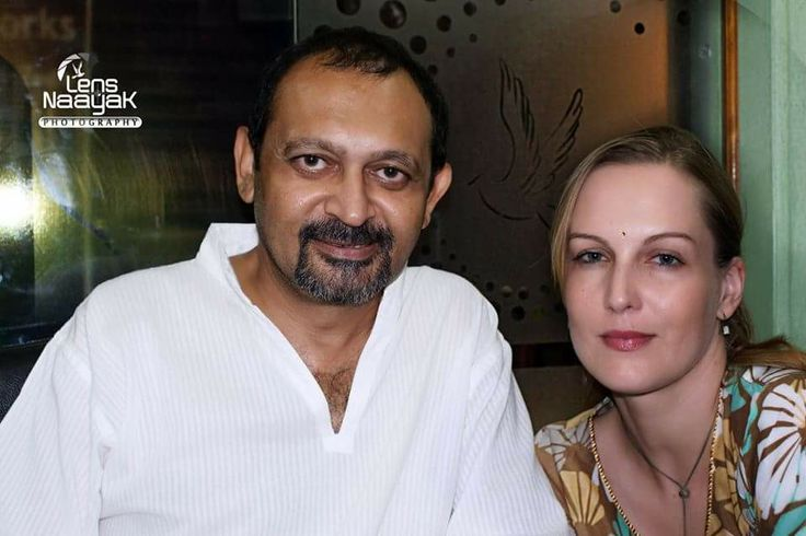 Akhil Mishra and Suzanne Bernert by Camaal Mustafa Sikander