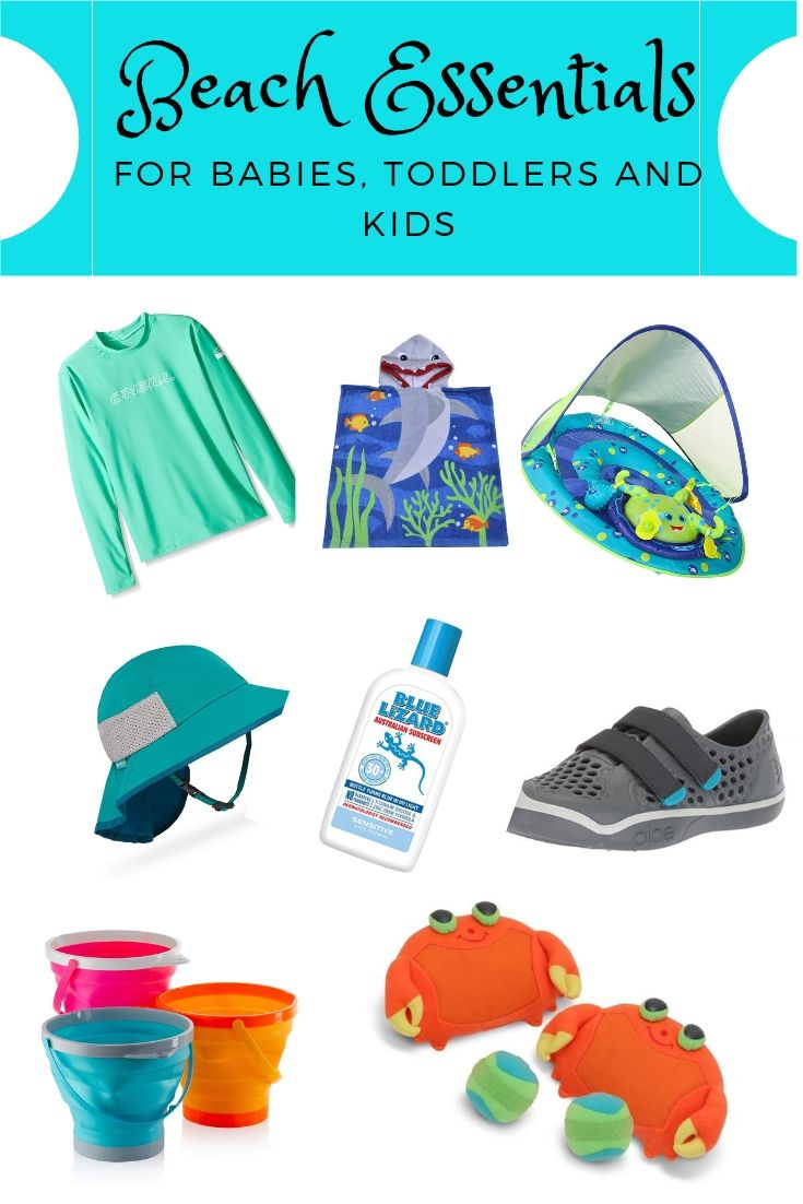 Beach Essentials for Traveling Babies, Toddlers and Kids  Toddler