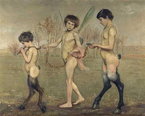 Vlastimil Hofman - Zagubione szczęście, 1919