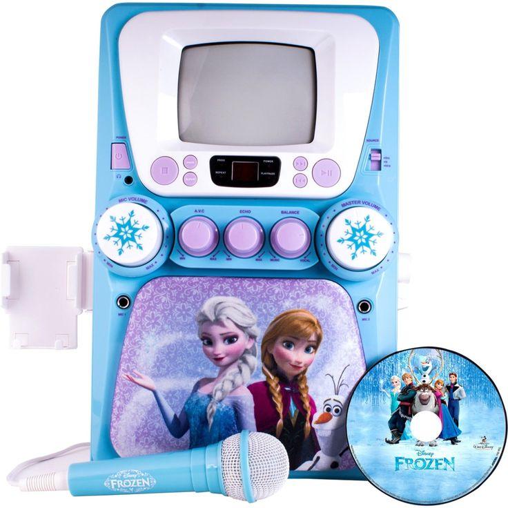 Sakar Kids Frozen Screen Karaoke