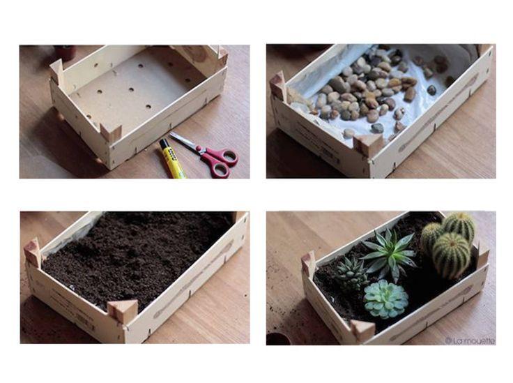 Les 25 meilleures idées de la catégorie Cagette Bois sur  ~ Mini Cagette En Bois