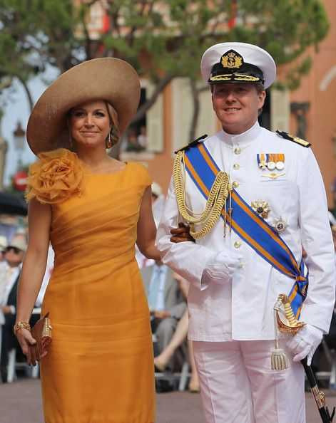 Princess Maxima of the Netherlands and Prince Willem Alexander of the Netherlands