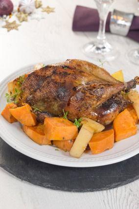 Recette - Faisan farci aux coings et au foie gras | 750g