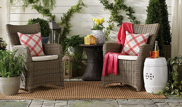 Get inspired by outdoor decorating ideas at HomeSense.