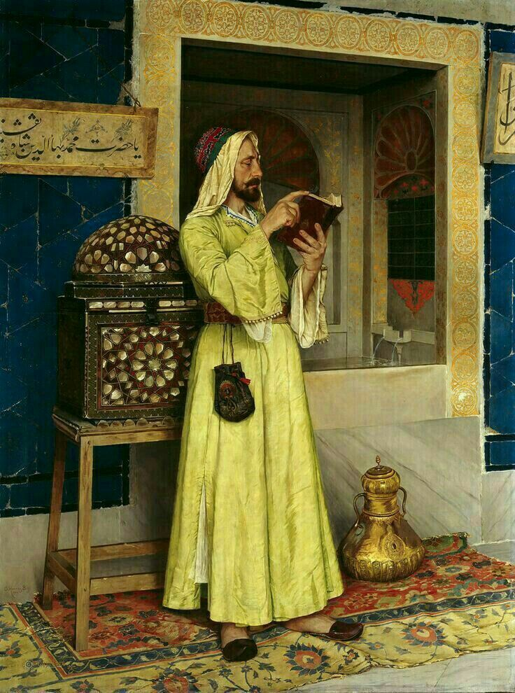 osman hamdi bey okuyan arap ile ilgili görsel sonucu