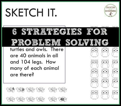 problem solving strategies mathswatch