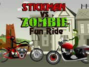 Stickman vs Zombie Fun Ride    Race vs Stickman or Zombie in this fun ride racing game. Your goal is to win the race and collect the most points in the least amount of time. Hit the nitro button to get a boost and perform tricks along the way. Use your arrow keys to move forwards and backwards and to keep balance.  http://ezarcade.net/games/stickman-vs-zombie-fun-ride/