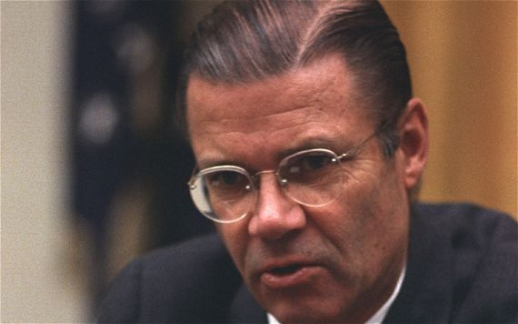 "When discussing the Cuban missile crisis in Robert McNamara stated that we came ""very close"" to nuclear war, ""closer than we knew at the time."""