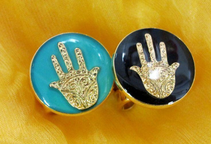 Hand Charm Ring