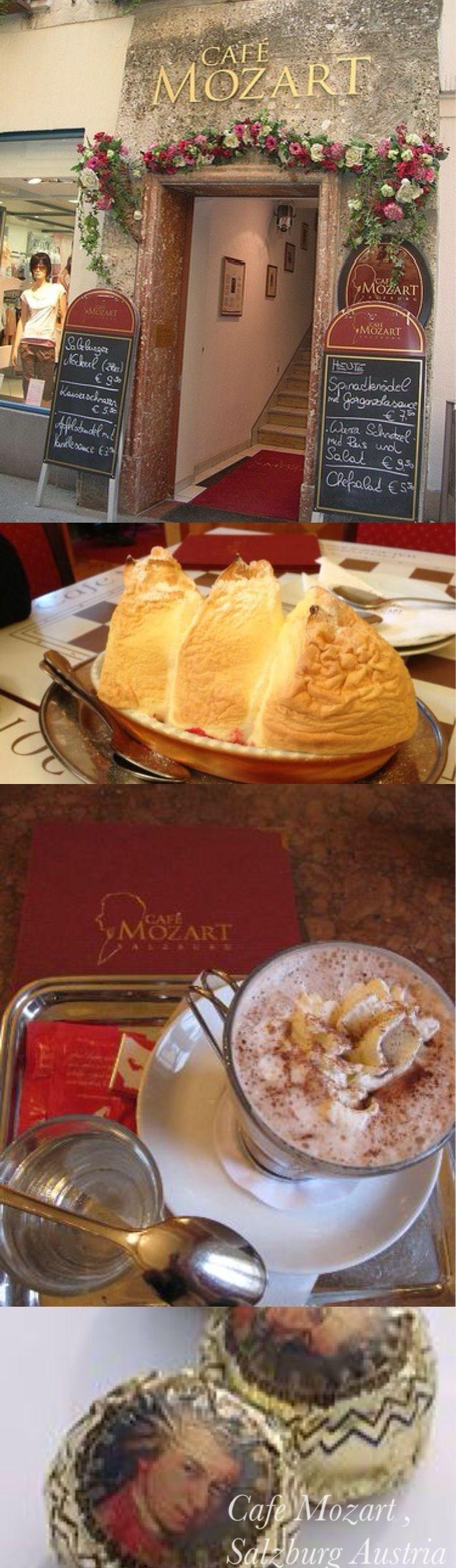 cafe mozart salzburg austria  http://maladeaventuras.com/2013/09/18/salzburg-a-cidade-do-mozart/