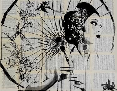 "Saatchi Art Artist Loui Jover; Drawing, ""blossom"" #art"
