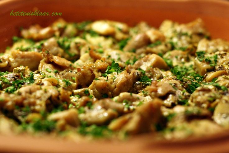 Kip rijst casserole