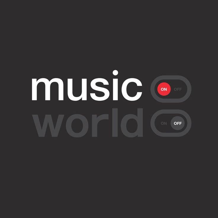 Music on. World off. - T-Shirt