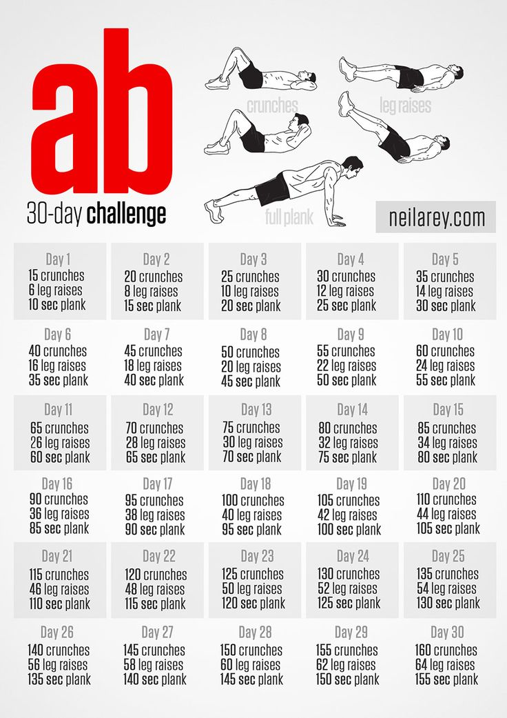 25 best ideas about 30 day ab workout on pinterest ab challenge workout 30 day ab challenge. Black Bedroom Furniture Sets. Home Design Ideas