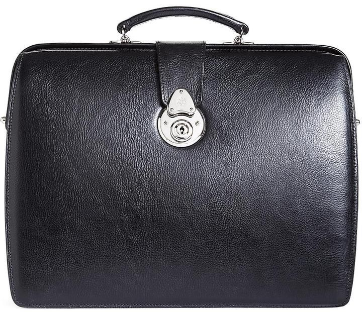 $898, Brooks Brothers Lawyers Small Briefcase. Sold by Brooks Brothers. Click for more info: https://lookastic.com/men/shop_items/58988/redirect