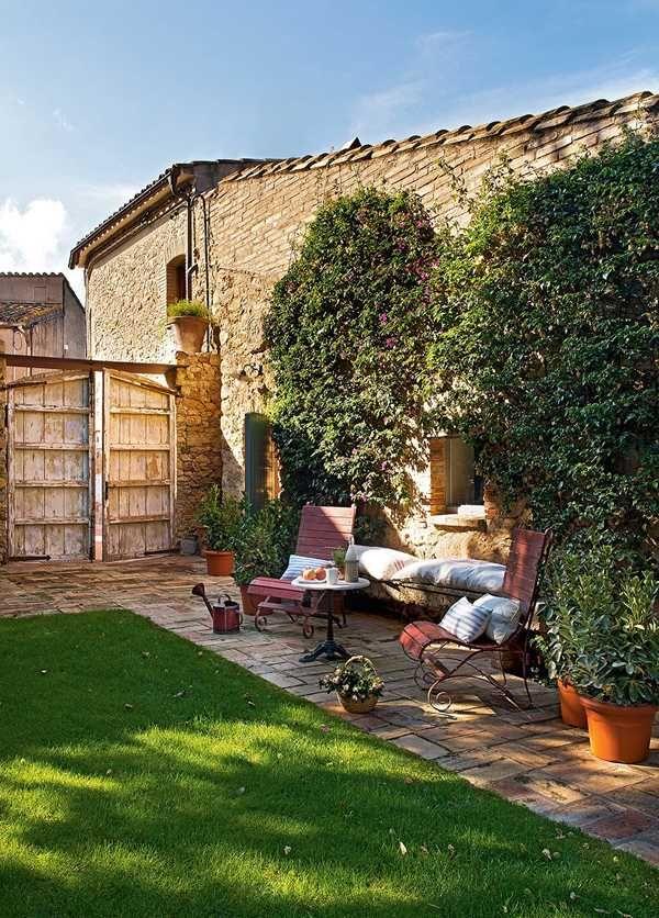 Mediterrán ház belső
