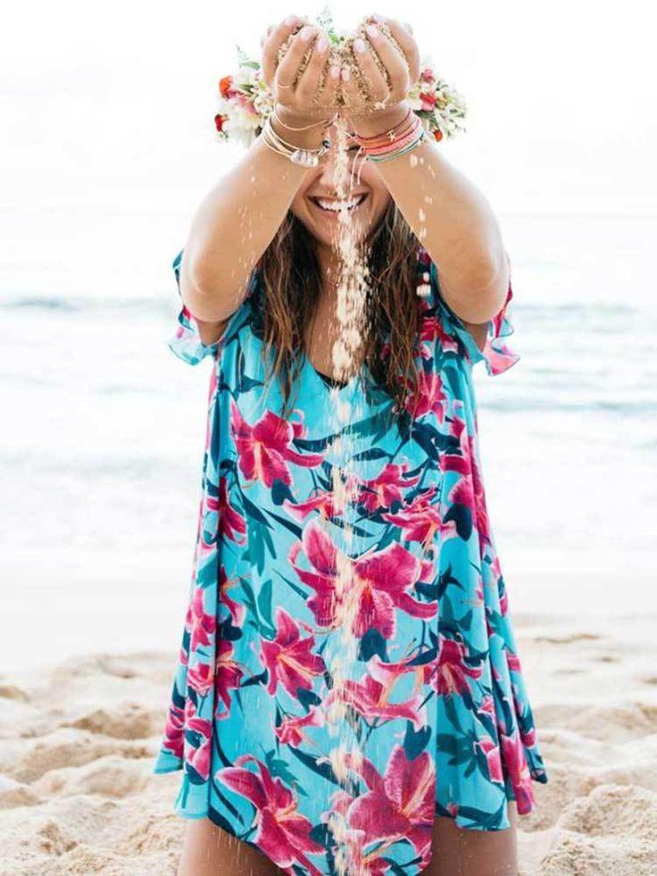 Find Great Cheap Price Authentic Sale Online Multi-Wear Wrap - Tropical heat by VIDA VIDA Reliable For Sale Sale Best Sale daMI5C