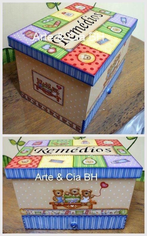 Arte Cia Bh - Pintura Country - Farmacinha