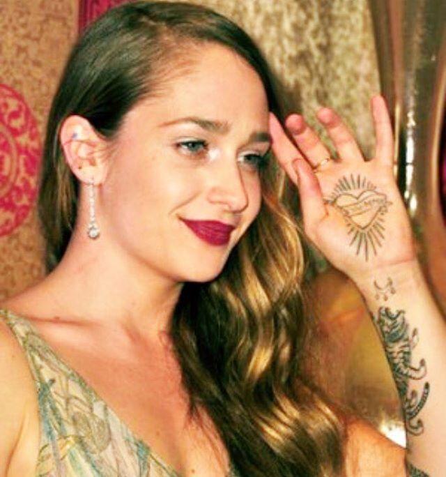 Jemima Kirke Arm Tattoo