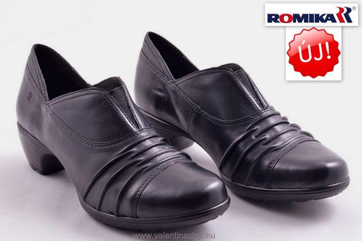 Romika női fekete cipő, elegáns megjelenést biztosít a legtöbb alkalomra!  http://valentinacipo.hu/45204-08-110  #romika #romika_webshop