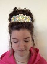 "The ""Courtnay"" Crystal Head Band 