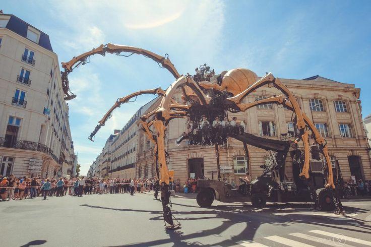 L'araignée géante Kumo, à Nantes