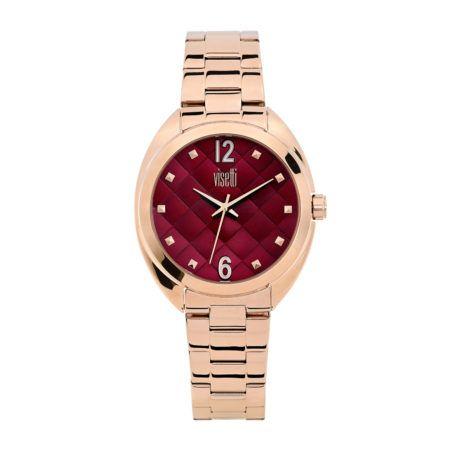 Ρολόι Visetti  romance series  rose gold Steel Bracelet  ZE-992-RDR