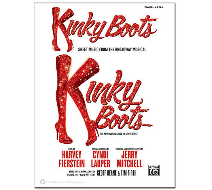 22 best images about kinky boots merch on pinterest sexy for Cyndi lauper broadway kinky boots