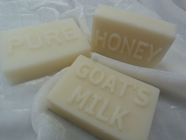 Goat milk and honey soap sls free