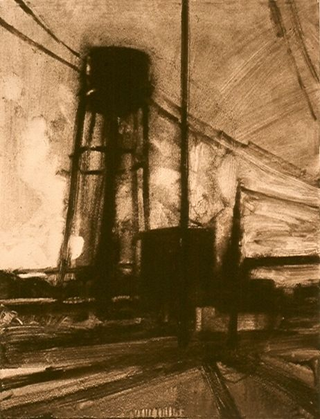Frank Hobbs : Printmaking : Monotypes