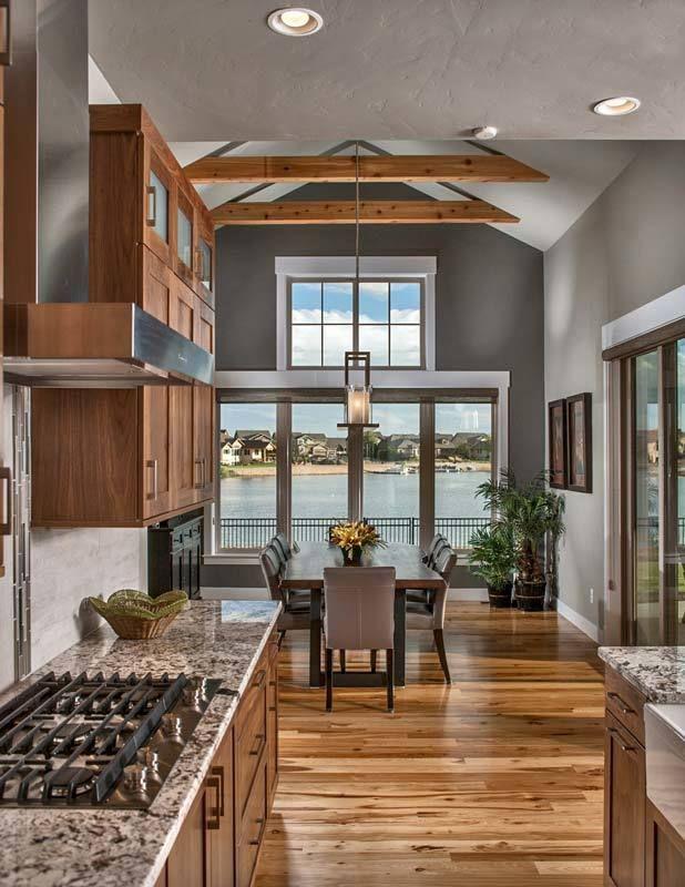 Plan 9525rw 4 Bed Mountain Craftsman House Plan Craftsman Home Interiors Craftsman Interior Design Craftsman Living Rooms