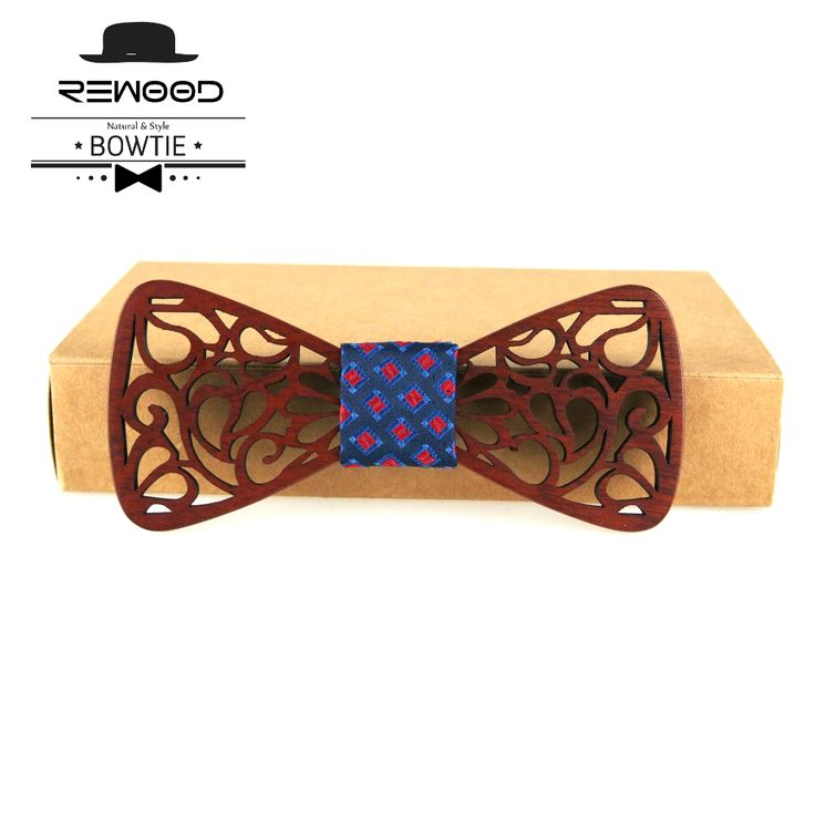 Hollow Wood Bow Ties for Mens //Price: $15.00 & FREE Shipping Over 180 countries //    #ties