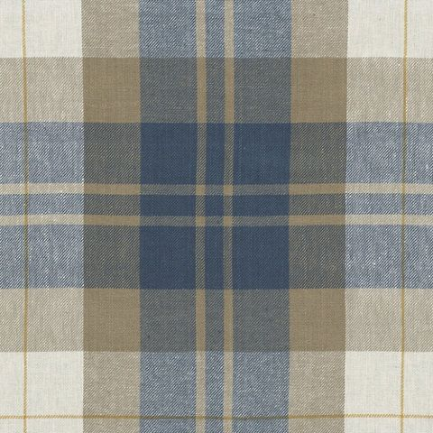 Summer Cottage Plaid - Vintage Blue - Plaids - Fabric - Products - Ralph Lauren Home - RalphLaurenHome.com