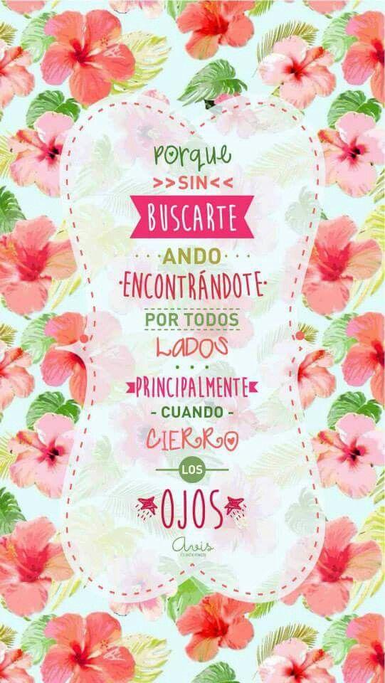 Las palabras describen todo a la perfección solo puedo ser feliz con todas estas palabras que tocan el corazón!!!!