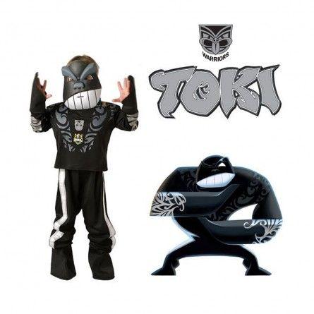 TOKI Kids NRL Warriors Mascot Costume