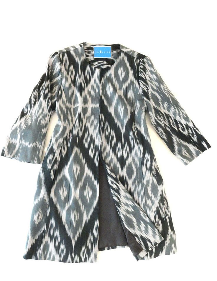 CJ Laing ikat coat - A Town & Country Magazine Editor's pick!