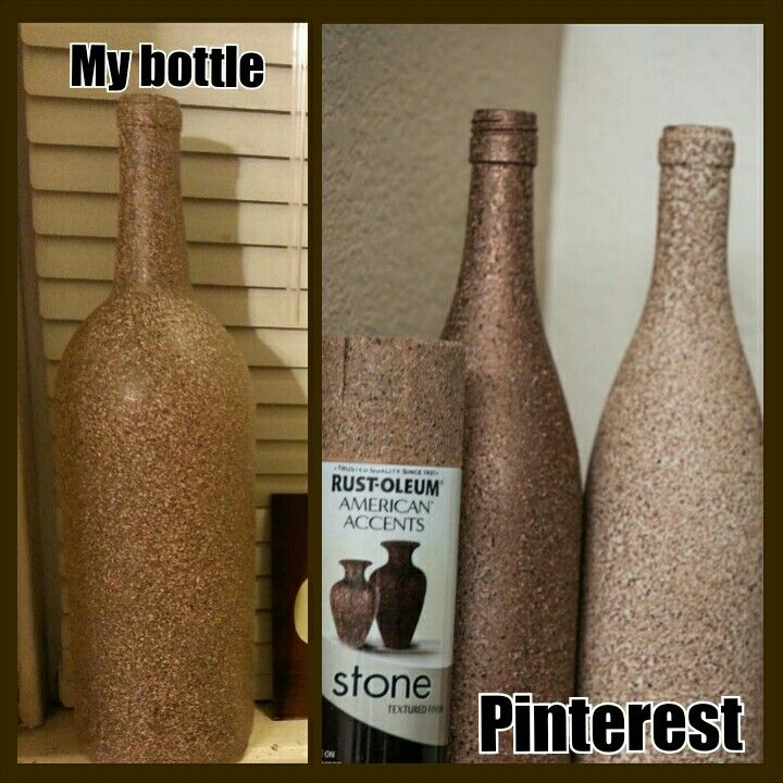 Loved this idea to start our Wine Themed Kitchen. So easy!