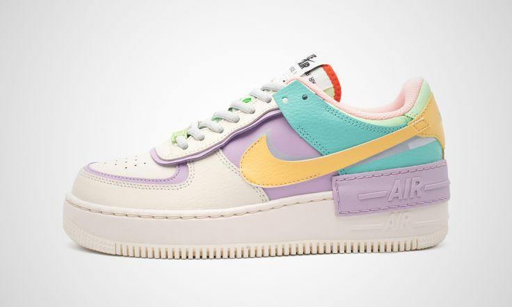 Nike WMNS Air Force 1 Shadow Tropical Twist | 43einhalb Sneaker ...