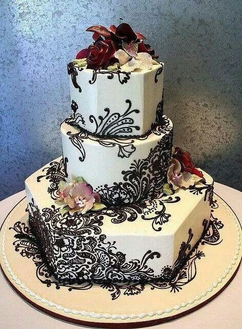 Amazing Henna cakes