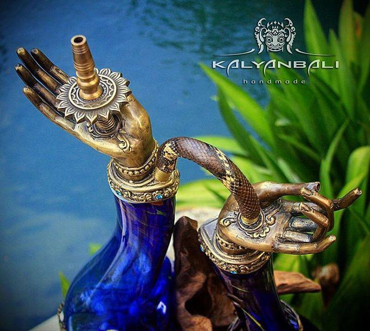 Hookah Shanti Exclusive by Kalyanbali $3500   #кальян #кальянбали #бали #арт #эксклюзив #kalyan #kalyanbali #bali #kalyanbaliart #art #smoke #shisha #hookah #handmade #handycraft #luxury #custom #nargile