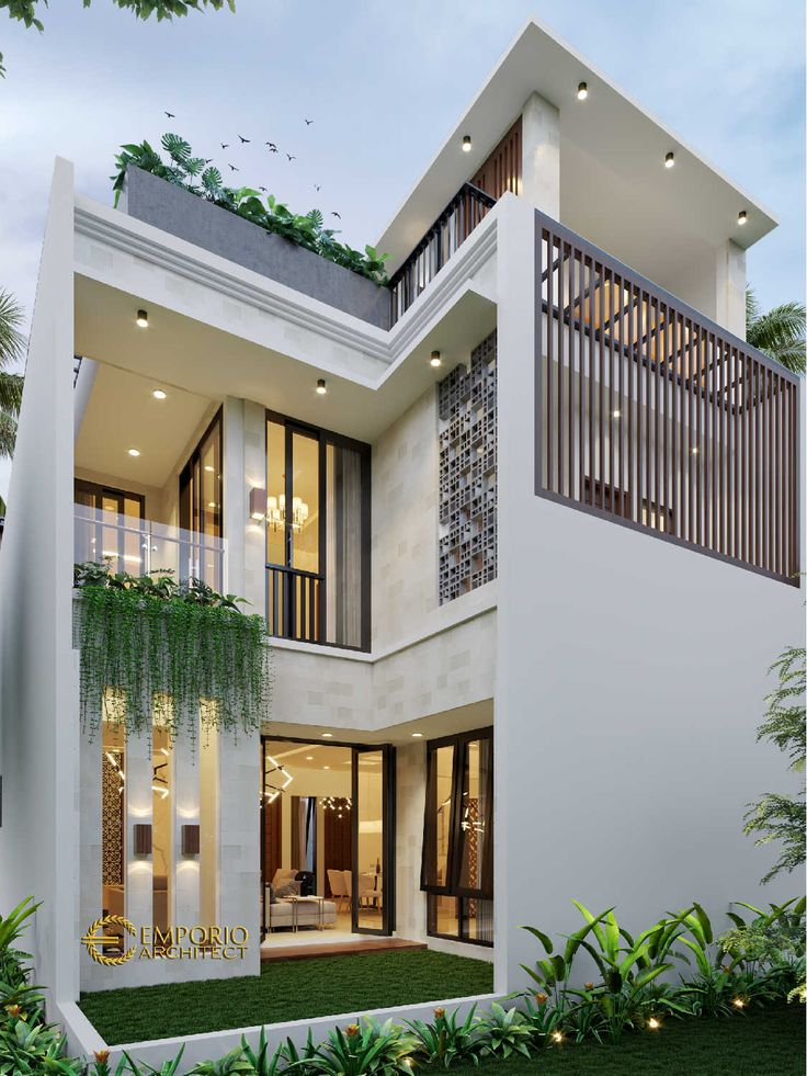 Mr Donny Modern House 3 Floors Design Jakarta Timur House Design Photos Modern House Facades House Exterior Contemporary house architecture styles