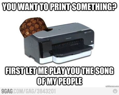 every time...: Funnies Pictures, Fun Stuff, Funnies Things, Funnies Pics, Random Meme, Scumbag Printer, Funniest Images, Funnies Stuff, Internet Funniest