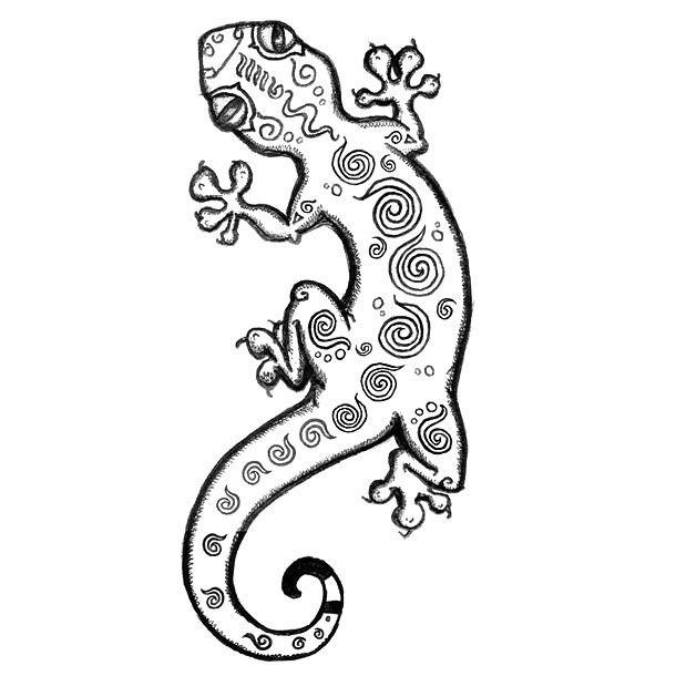 Funny Gecko Tattoo Design Lizard Tattoo Gecko Tattoo Gecko