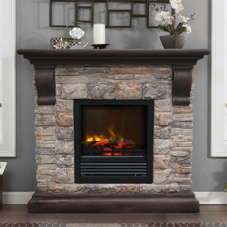 25 best ideas about stone electric fireplace on pinterest electric fireplace with mantel - Solid stone fireplace mantels with nice appearance ...