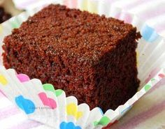 How to make soft eggless cake with chocolate flavor