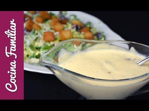 Cómo hacer salsa césar | Cocina