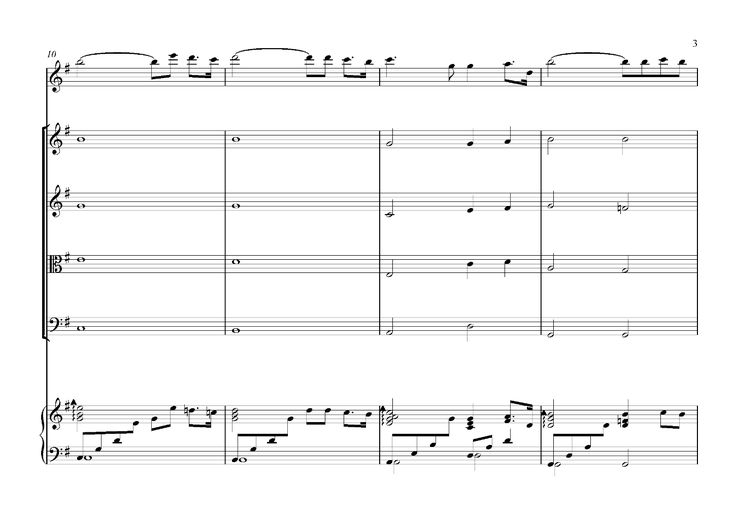 Music Transcription - Shinsou No, Ojousama Desu