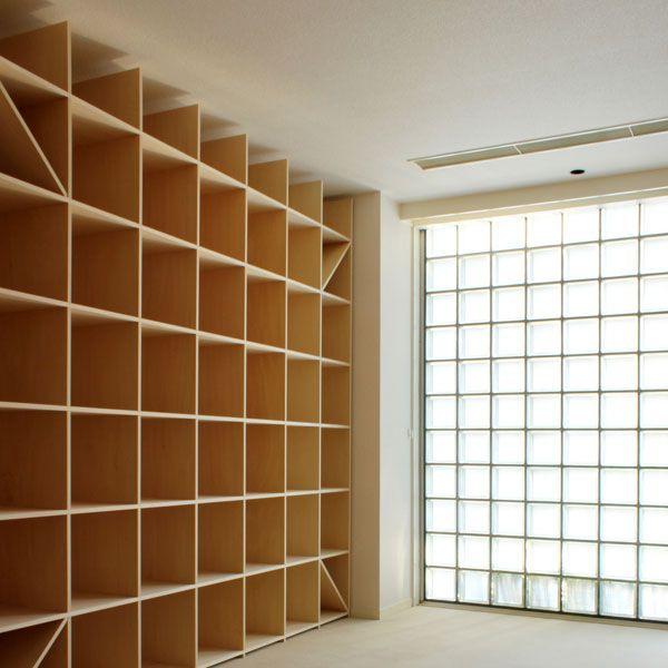 本棚 大型本 美術書 画集 を収納できる壁面本棚 本棚の通販は