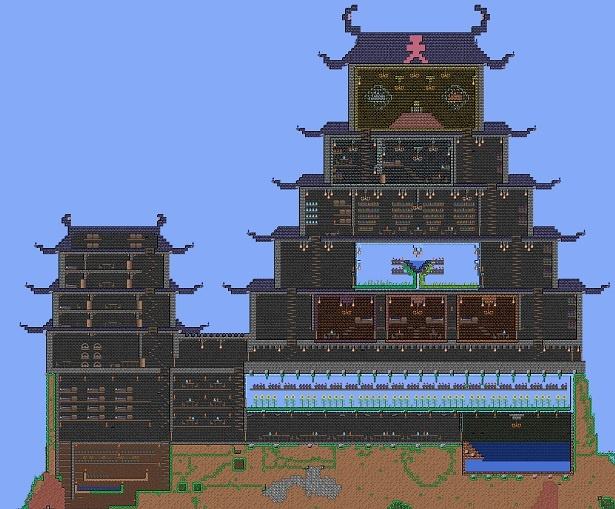 68 best images about terraria on pinterest for Build your own castle home